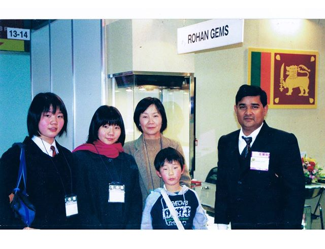 IJT Rohan Gems stall in the 90s - Rohan Gems - since 1983 #ijt #tokyo #japan #internationaljewellerytokyo
