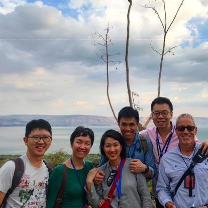 Mount of Beatitudes, Sea of Galilee