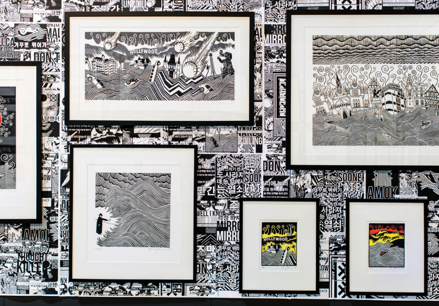 Stanley Donwood interview – Broadsheet | Photo: Nikki To
