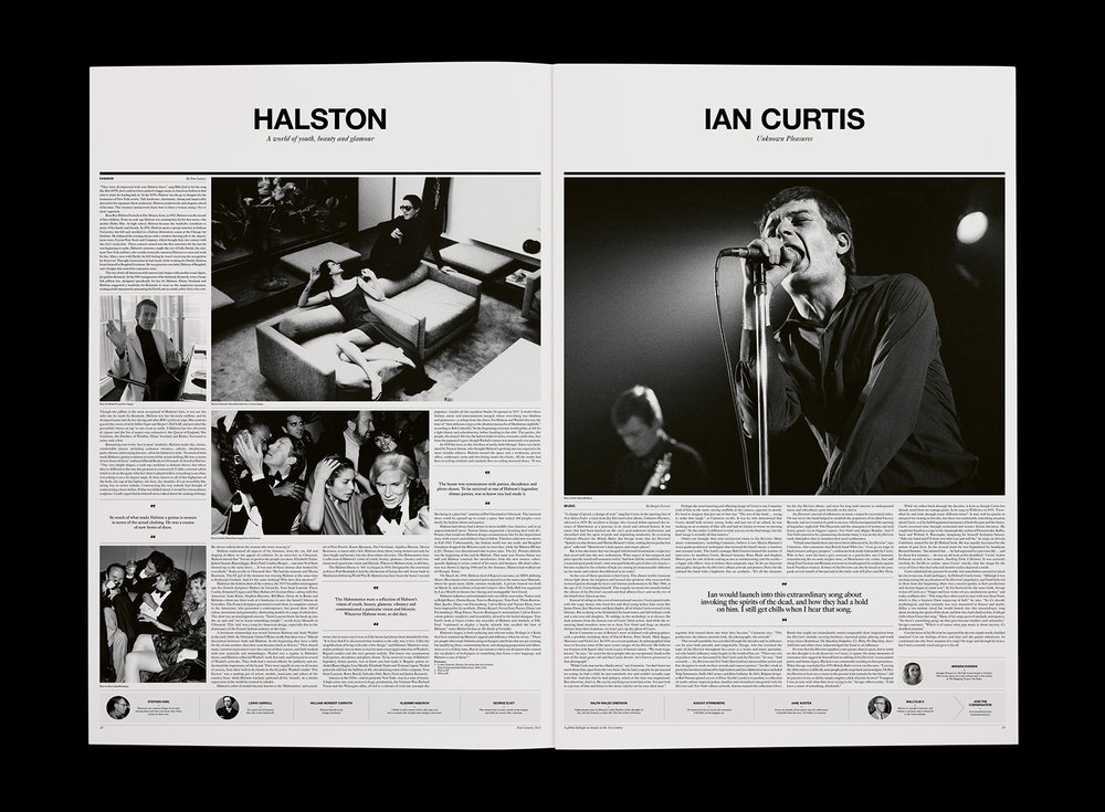 Ian Curtis feature – Neue Luxury