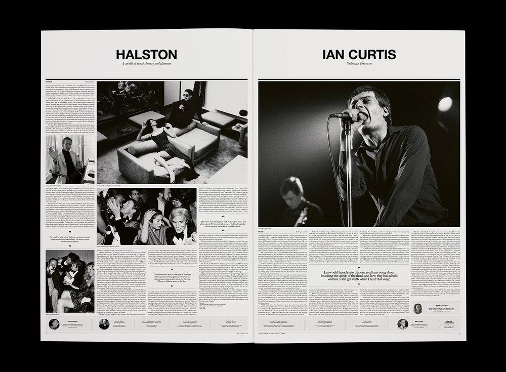 Ian Curtis feature – Neue Luxury
