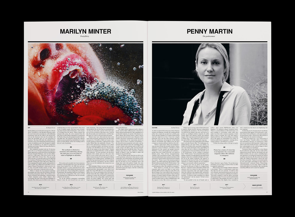 Marilyn Minter feature – Neue Fashion
