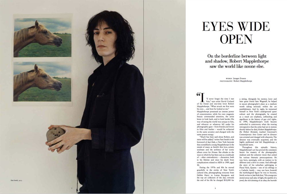 Robert Mapplethorpe arts feature – Russh issue #79
