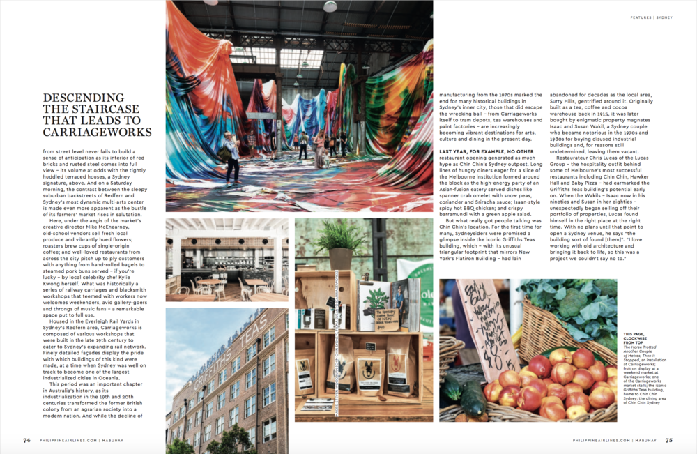Industrial Evolution feature – Mabuhay inflight magazine