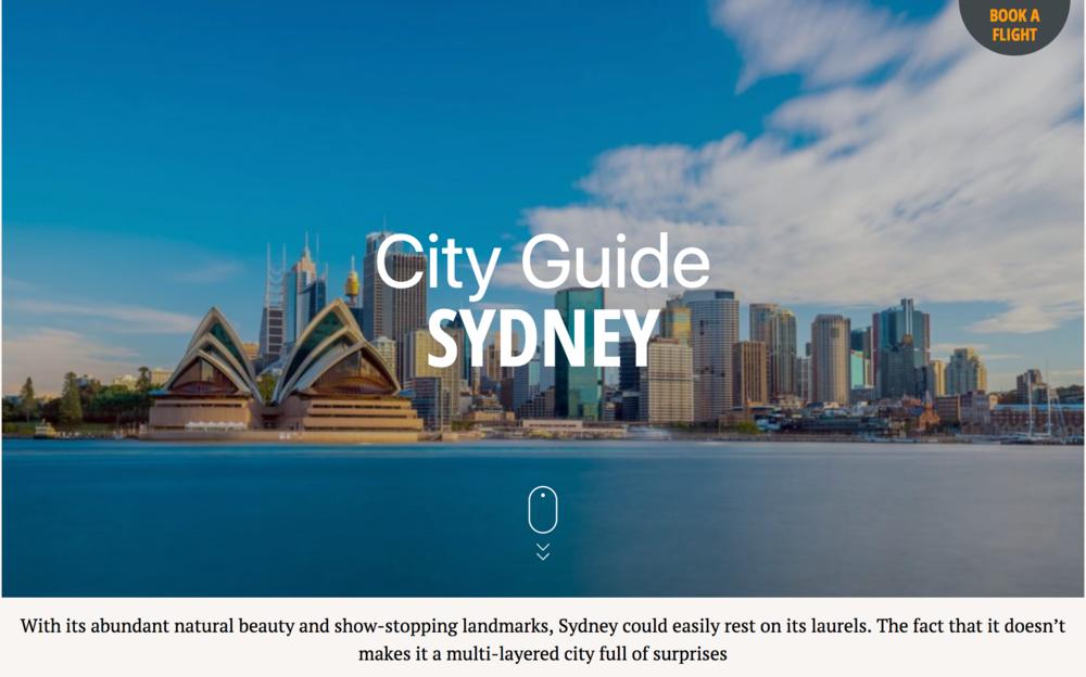Sydney city guide – SilverKris.com