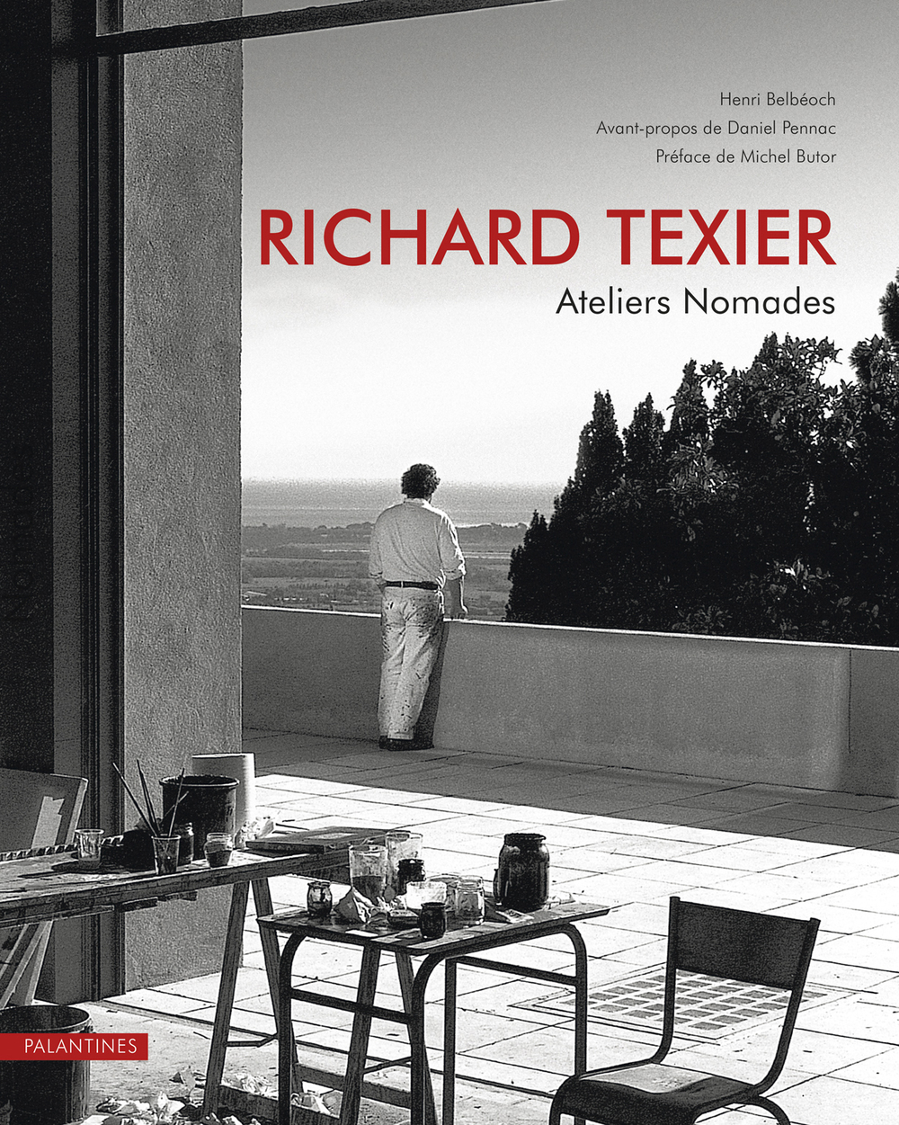 Richard Texier - Latest book about his Temporary Workshops all around the world