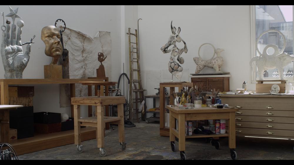 Richard Texier atelier