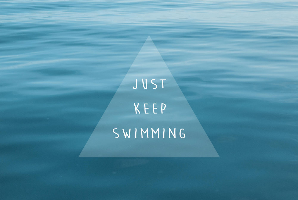 Just Keep Swimming | A Beautiful Distraction