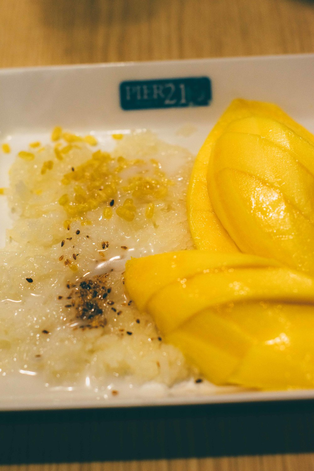 Mango Sticky Rice @ Bangkok, Thailand, 2016 | A Beautiful Distraction