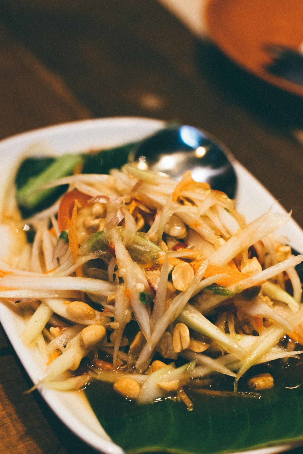 Papaya Salad @ Ko Khun Pon Yang Kam, Central World, Bangkok | A Beautiful Distraction