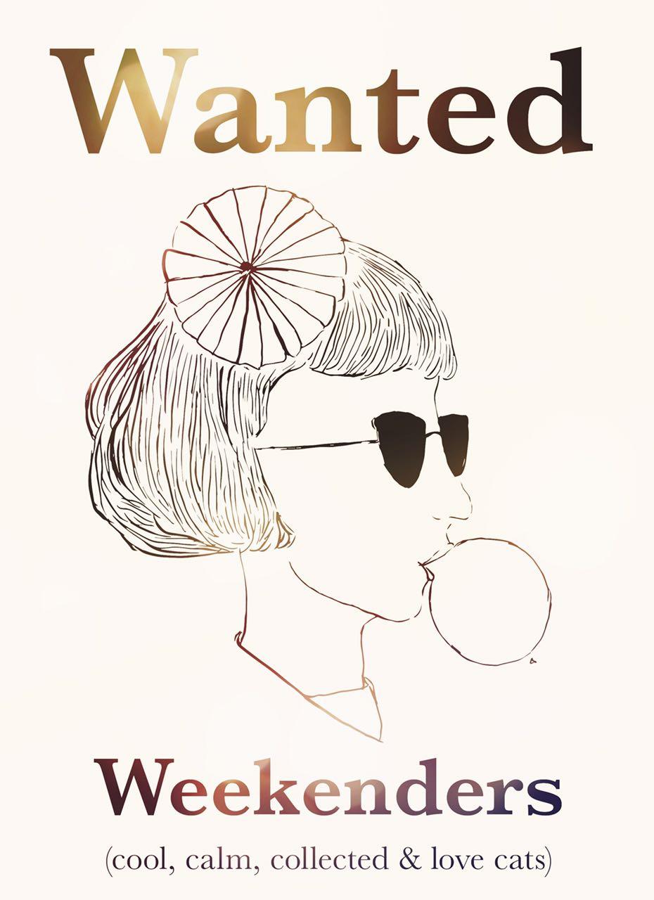 Snackfood Weekenders Wanted, 2016