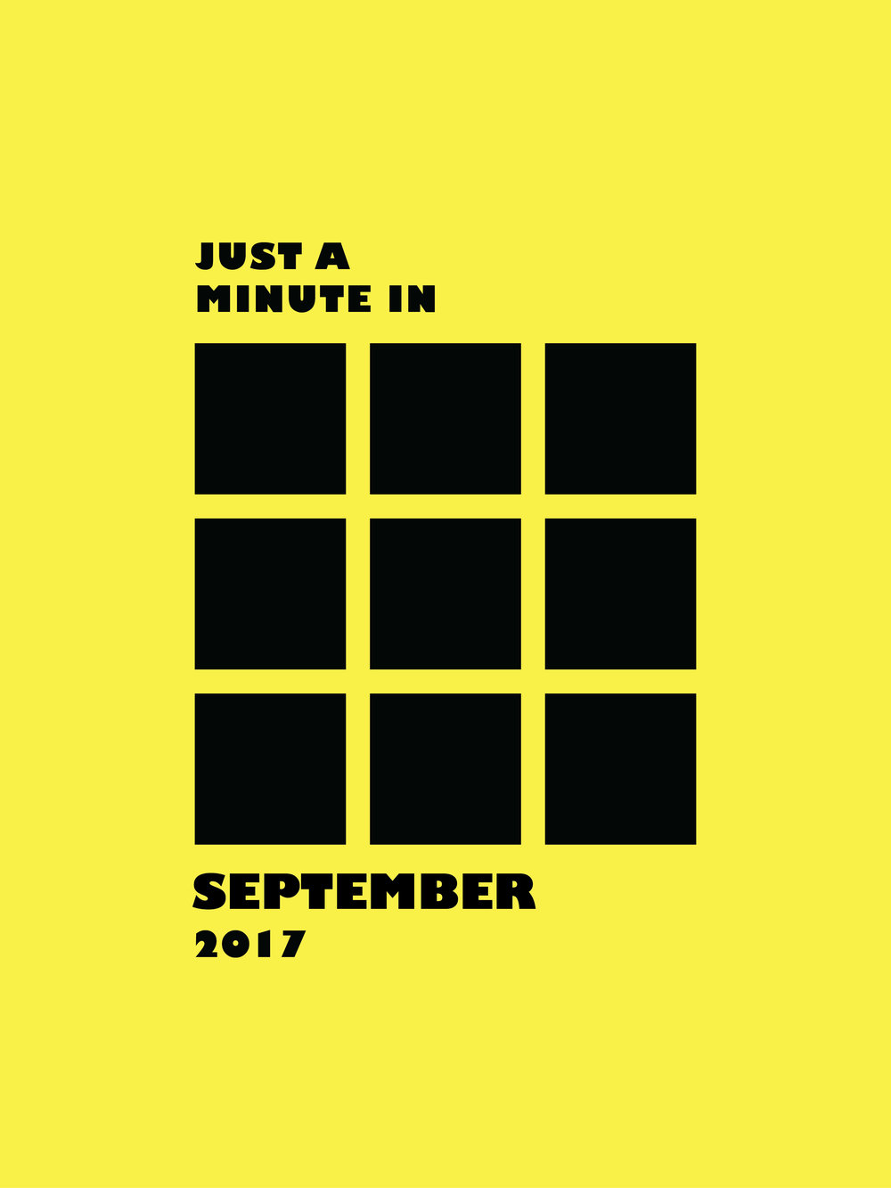 Just A Minute In September 2017 | A Beautiful Distraction