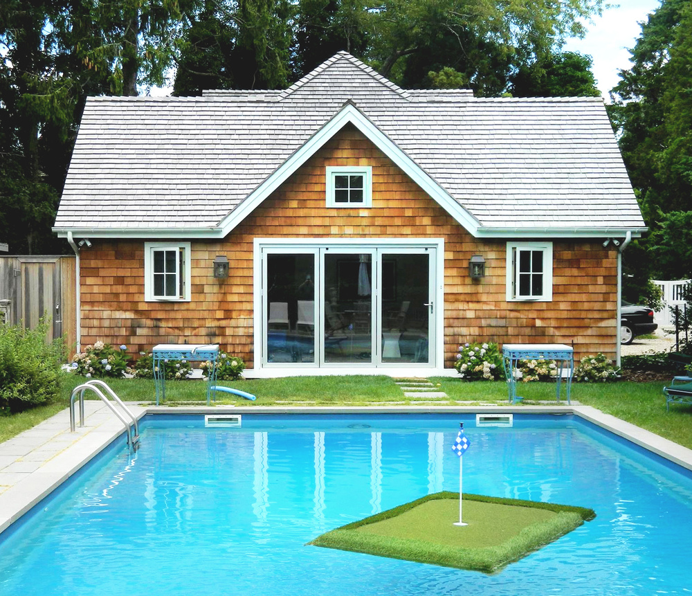 Pool houses art studios guest cottages the hampton 39 s for Pool design must haves