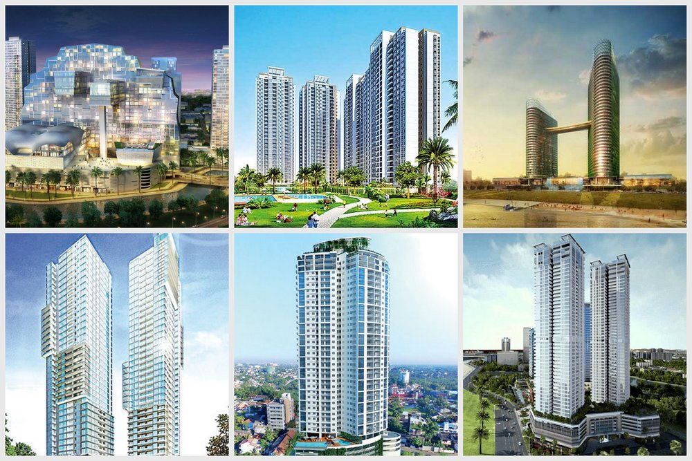 Colombo, current construction projects