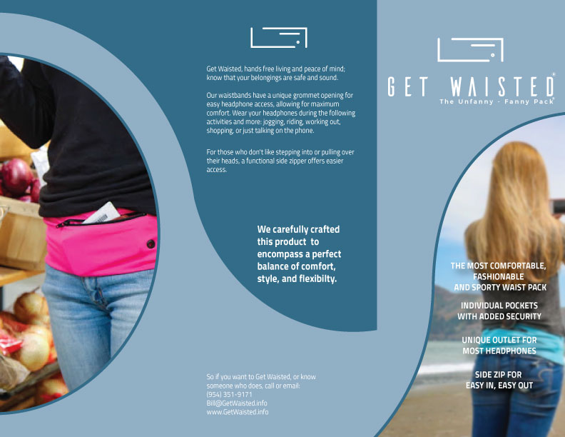 Fashionable fanny packs from Get Waisted