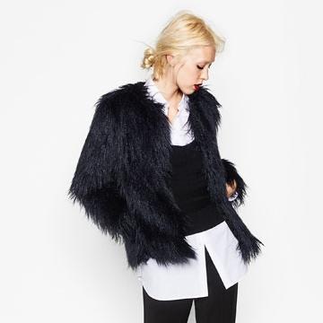 Zara Fur Jacket $99