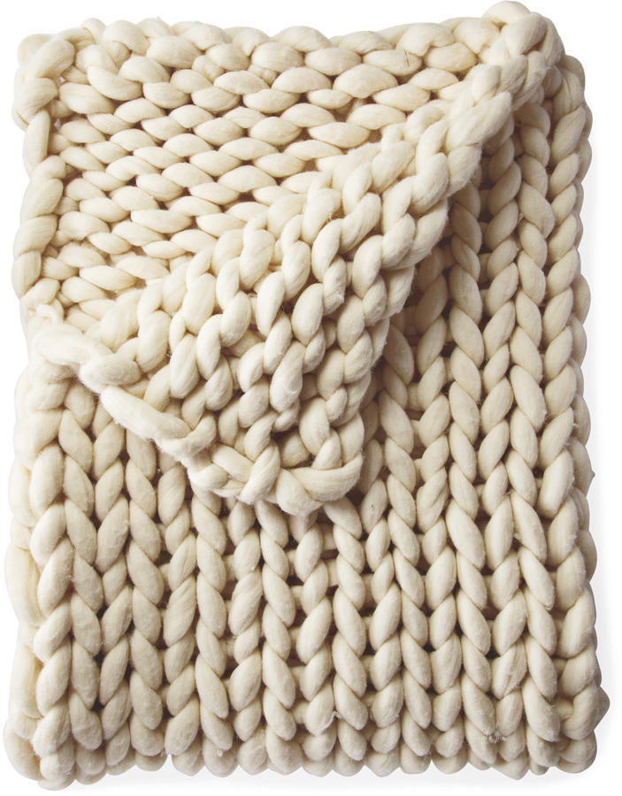 textured throw $598