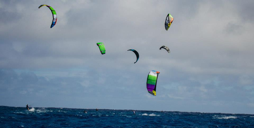 all the kites!