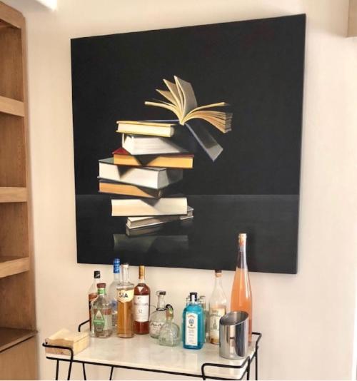 books-painting