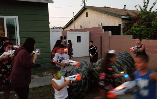 Small front yard birthday party made epic with Laser Tag!  #PartyXtreme #LaserTagRental #birthdaypartyideas #NerfLaserTag #nerflaseropspro #alphapoint #deltaburst💥💥💥 #Deltaburst #NerfGun #nerf #LaserTag