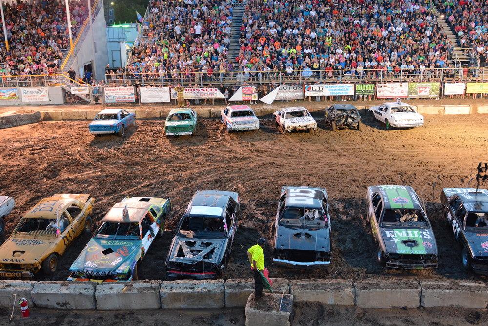 Demolition Derby – Power Wheels Demo Derby @ the Fair |Demolition Derby Fair Grounds