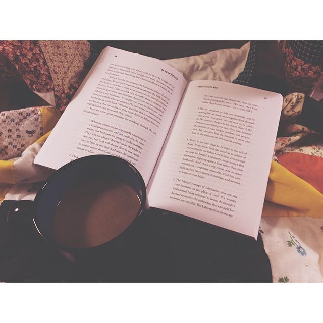 Slowing down. The best way that I know how. #vsco #vscocam #bookstagram