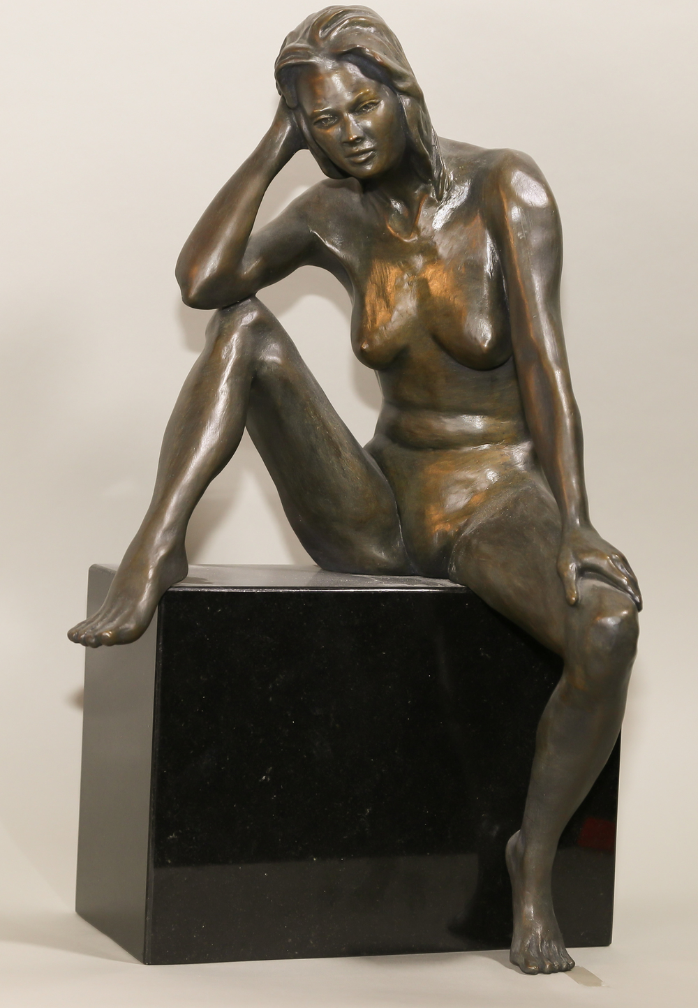 Songer (2004) Bronze, Edition: 30, 10.5x8x16in. $3,850