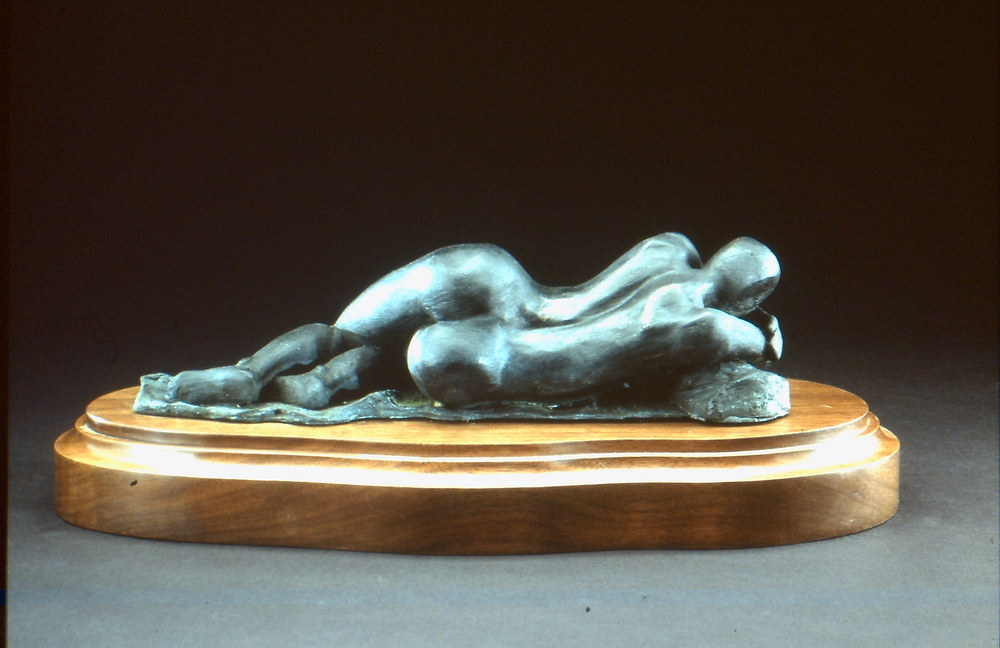 Respose sur la Roche - Back (2000) Cold Cast Bronze, Edition: 30, 3.5x11x4in. $1,150