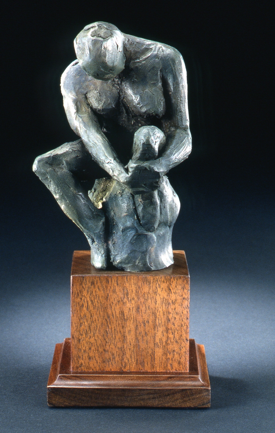 La Penseuse (1999) Cold Cast Bronze, Edition: 30, 9x4x4in. $650