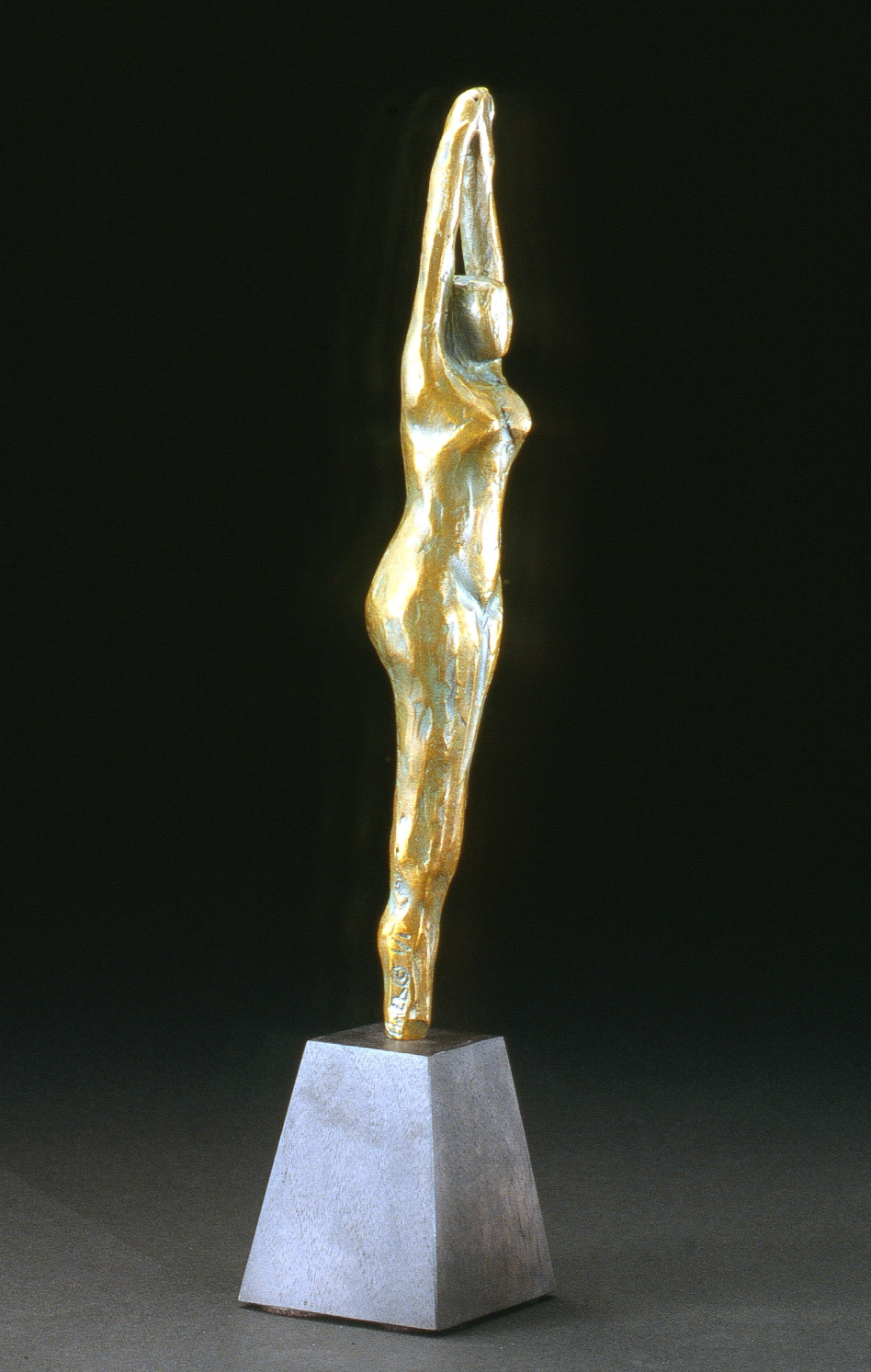 Lever du Soleil (1999) Bronze, Edition: 1, 13.5in. Sold
