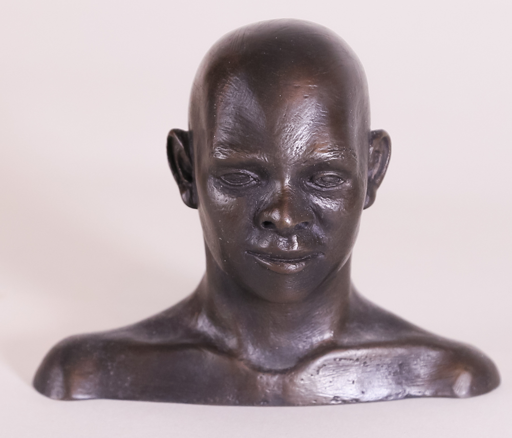 Trini Man (2003) Bronze, Edition: 15, 4x4.5x2.5in. $950