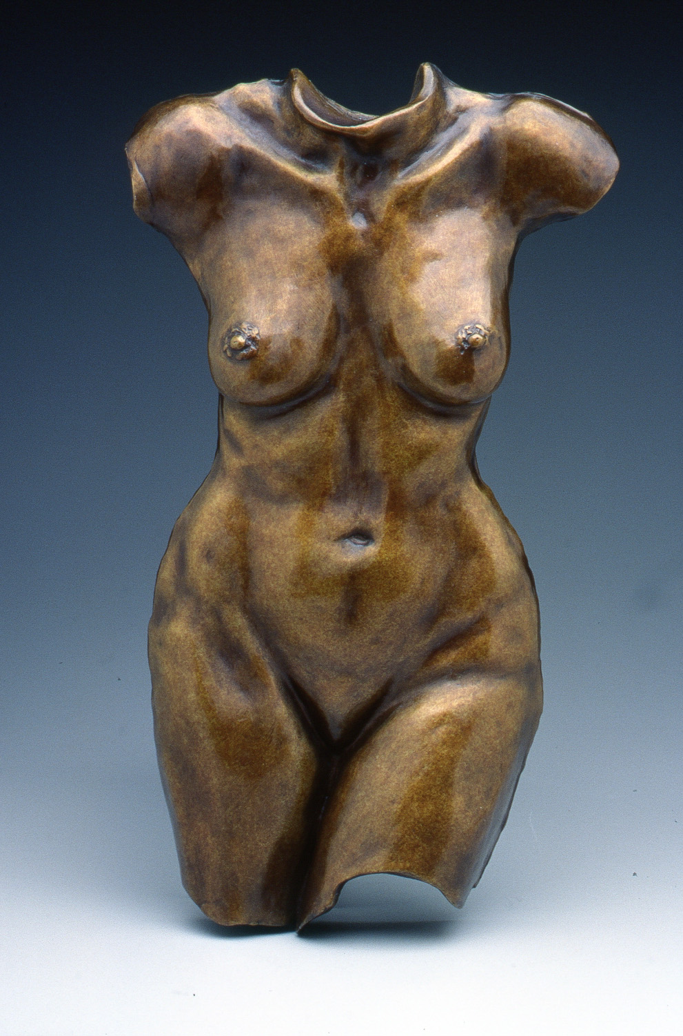 Jo (on a stand) (1997) Bronze, Edition: 9, 16.6x9x2in. $1,950