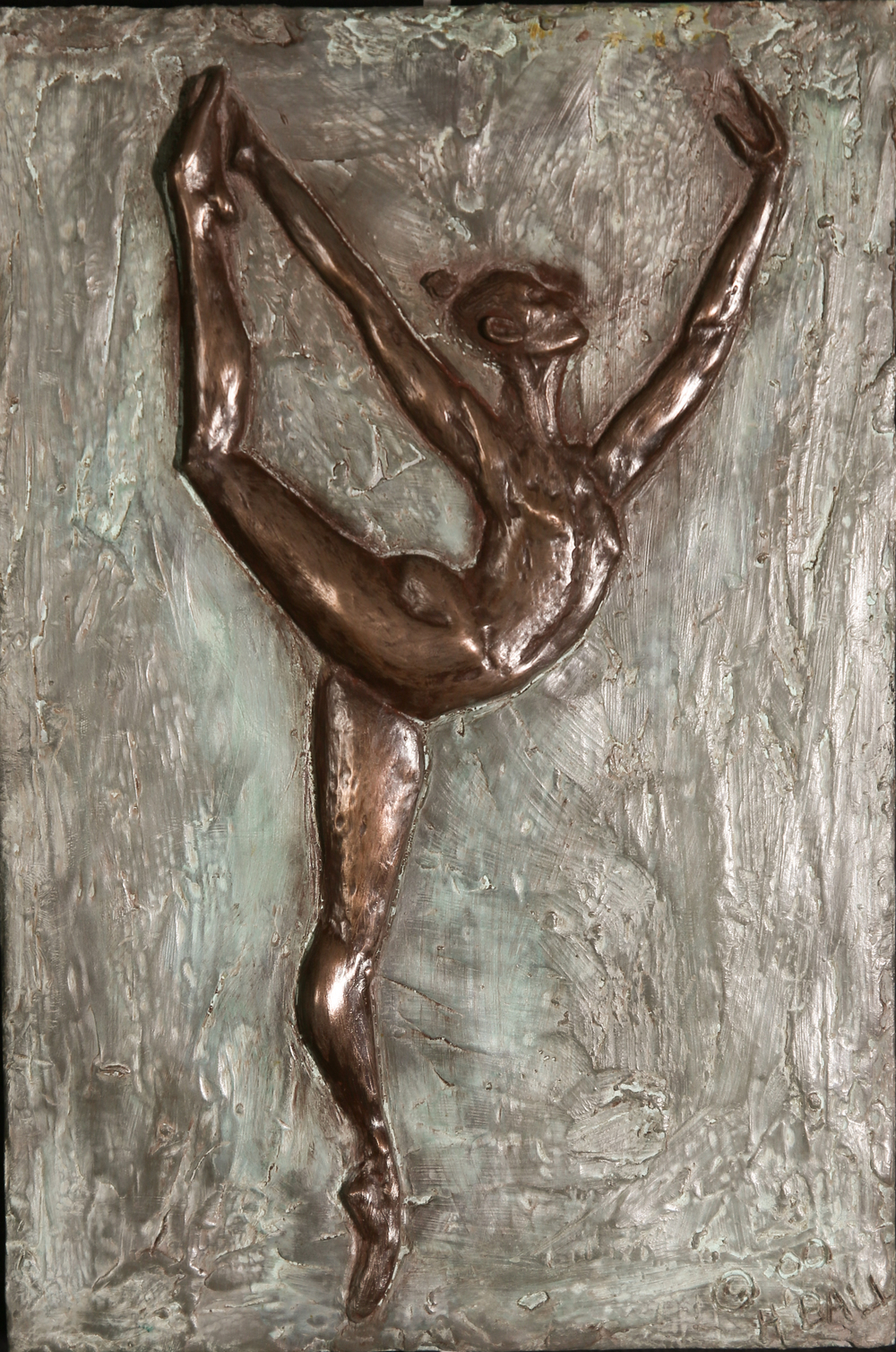 Arabesque (2000) FMG Bronze, Edition: 30, 11.5x8x.5in. $1,000