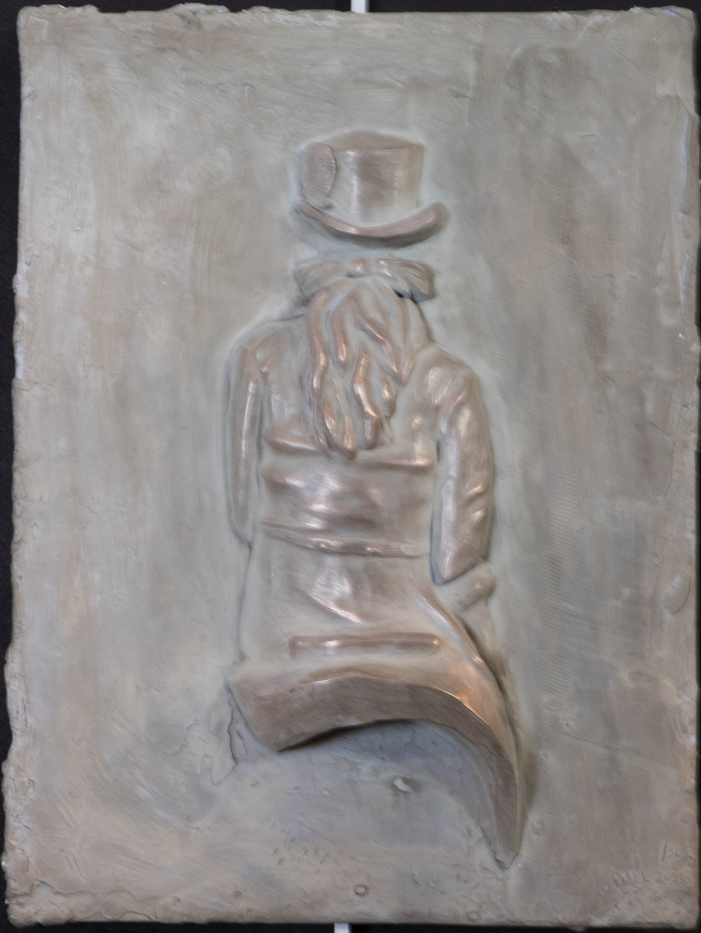 Le Steeple sur la Selle de Femme (2015) FMG Bronze, Edition: 30, 16x12x.25in. $1,900