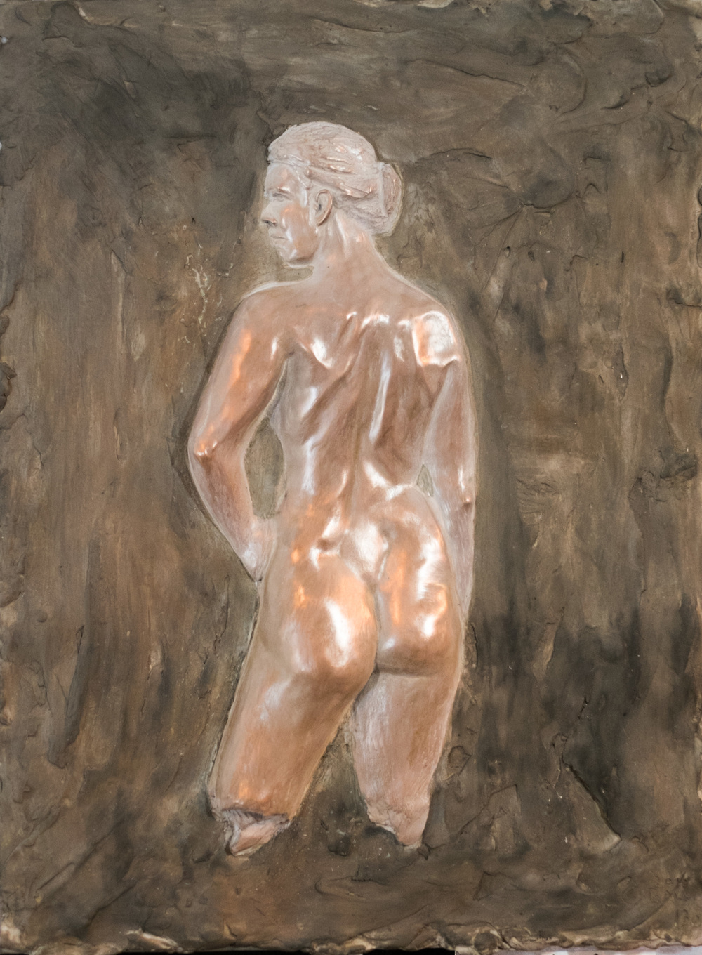 Une Grace (2015) FMG Bronze, Edition: 30, 16x12x.25in. $1,900