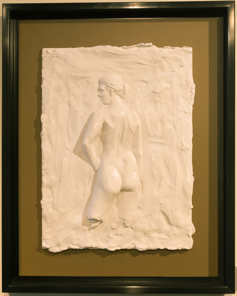 Une Grace (2015) FMG Marble, Edition: 30, 21.25x17x2in. $1,800