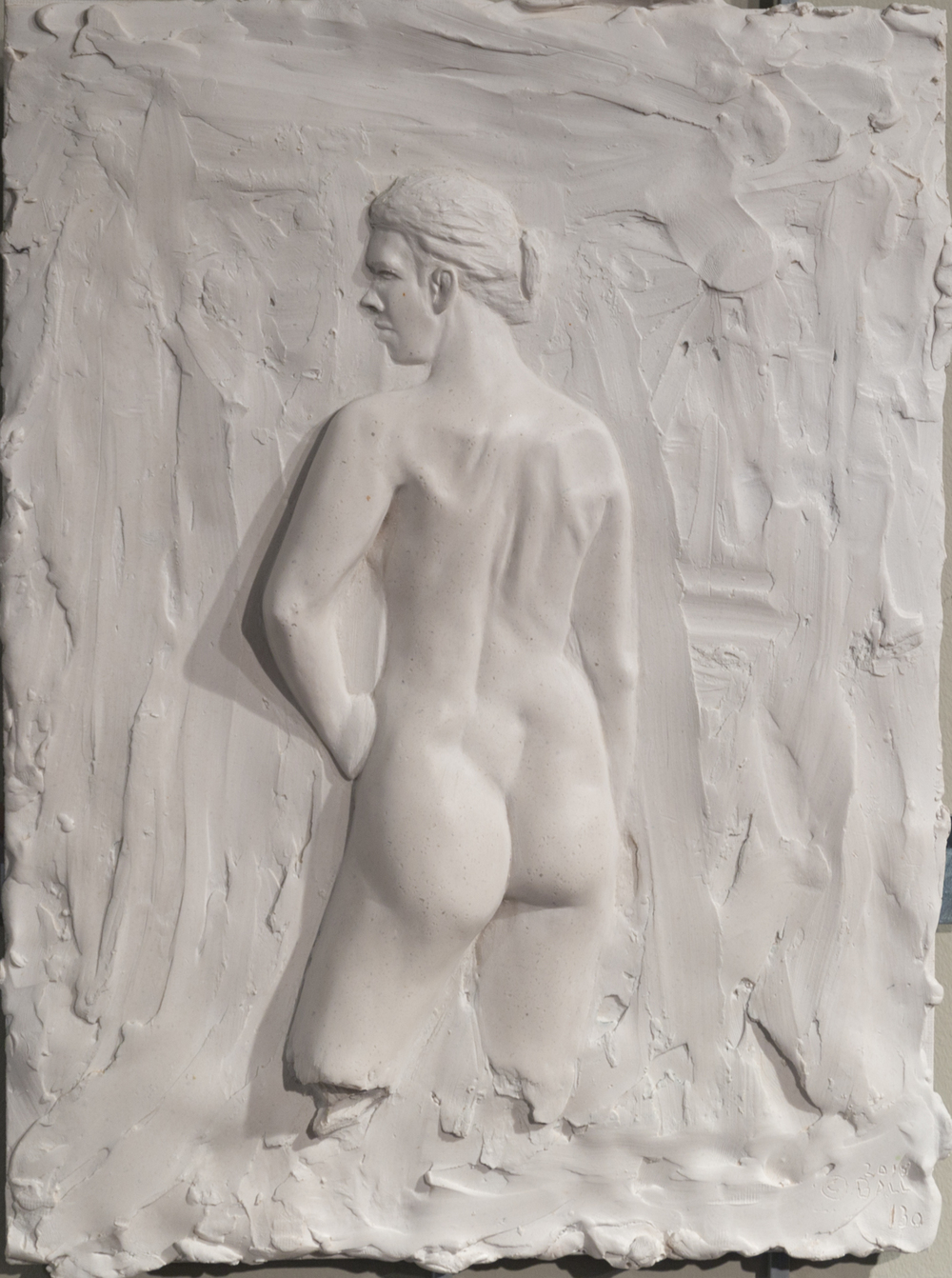 Une Grace (2015) FMG Marble, Edition: 30, 16x12x.25in. $1800