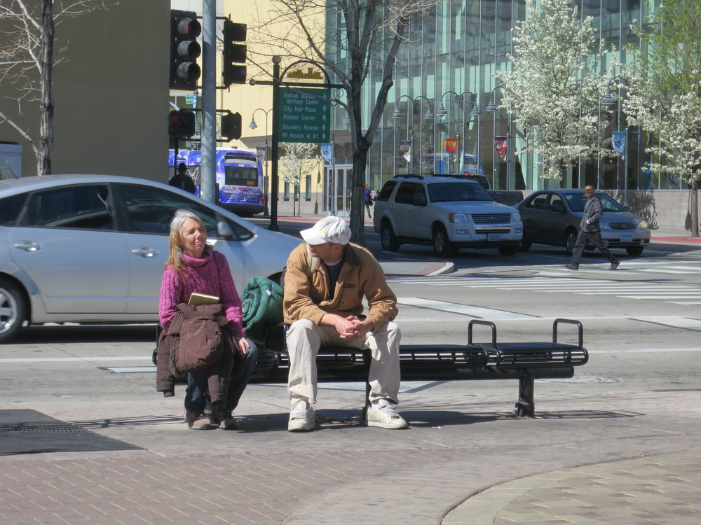 Volunteers quickly started outreach efforts, to find out what were some the issues facing Reno's homeless population.