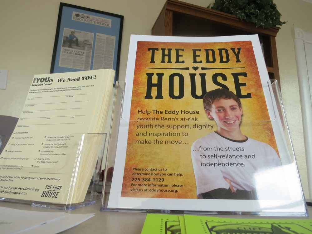 The Eddy House was open, and the work to help Reno's homeless youth began immediately.