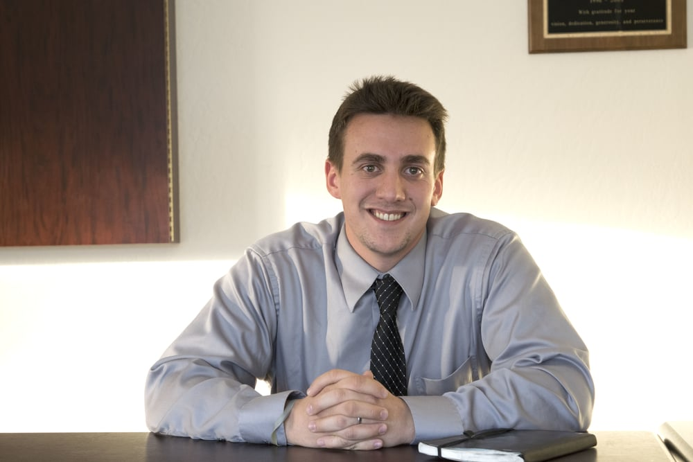 Nick Tscheekar is the Initiatives Director with the Community Foundation of Western Nevada. Photo by Jose Olivares