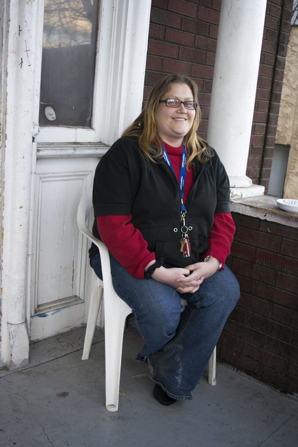 "In an interview with ""Our Town Reno"" earlier this year, one of the residents Gretchen put on a brave smile for a picture but said that due to her criminal record it would be very difficult for her to find a rental at the same price she now gets."