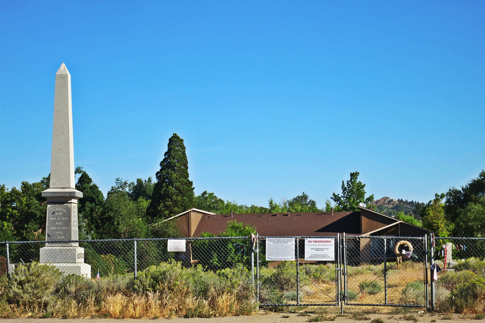 An area where seemingly Sierra Memorial Gardens wants to push the entire cemetery into.