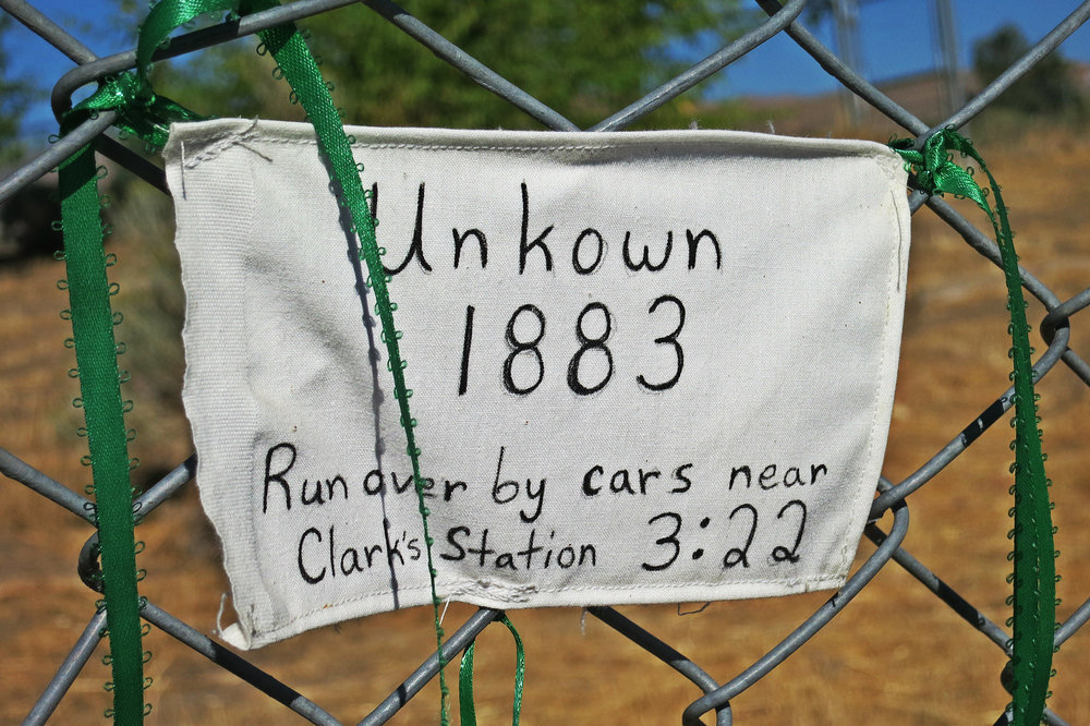 """There are babies underneath where these cars are parked. Their families buried them thinking this would be a final resting place and they would never be disturbed."""