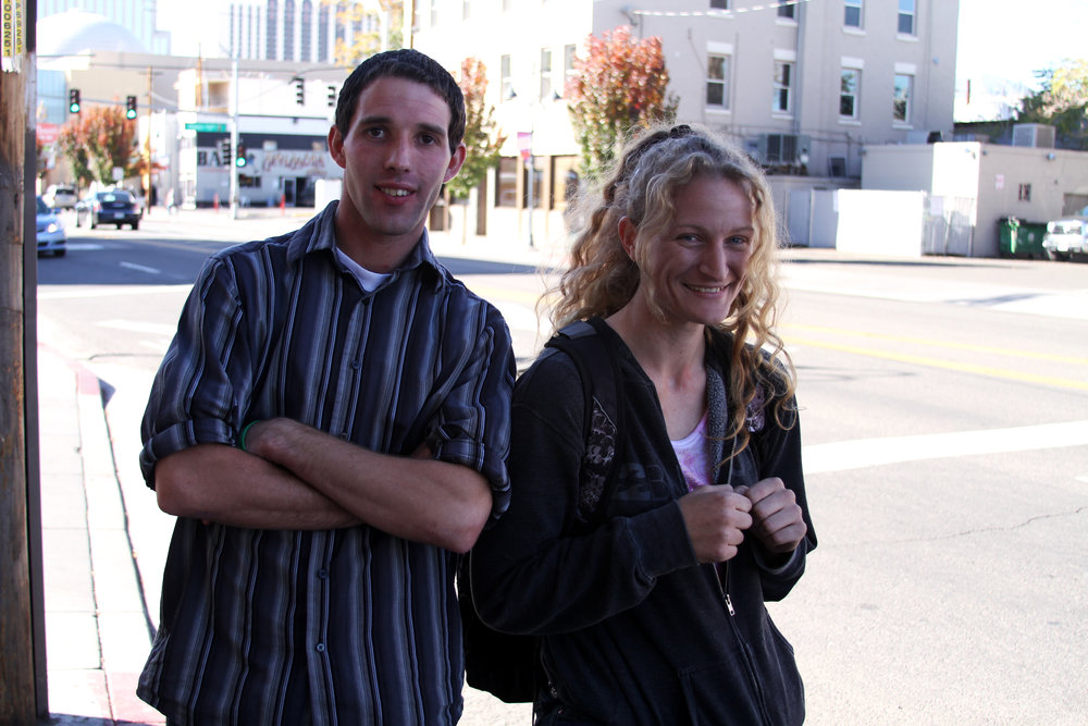 Ryan and Shelby G. pose for Our Town Reno. Photo by Jose Olivares.