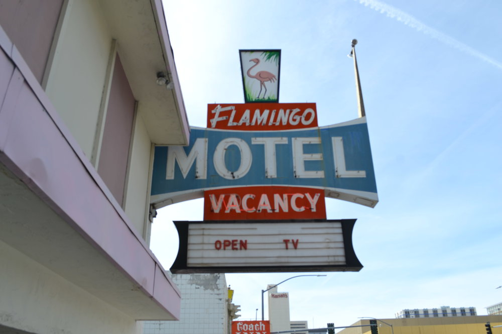 Often adorned with vintage decor of the 1970s, motels have become a pivotal part of Reno's composition—even if you haven't stayed in one. On a casual drive up or down one of the main drags of Reno, it's uncommon to not see at least one motel in a quick glance out of a car window. Photo by Jacob Jacoby for Our Town Reno