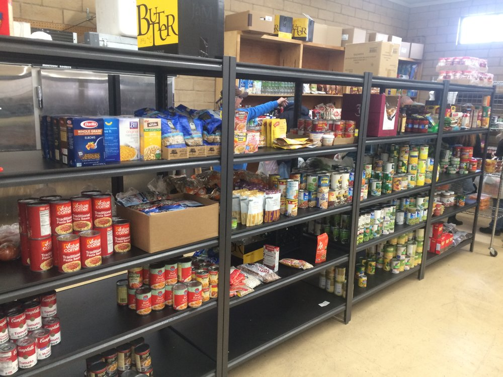 "The pantry relies on outdated goods provided by local groceries.  ""In the last two years, we have tripled the numbers of the people that we help. Our plan is to spread the word and allow everyone the right to benefit from our help,"" McKnight said."