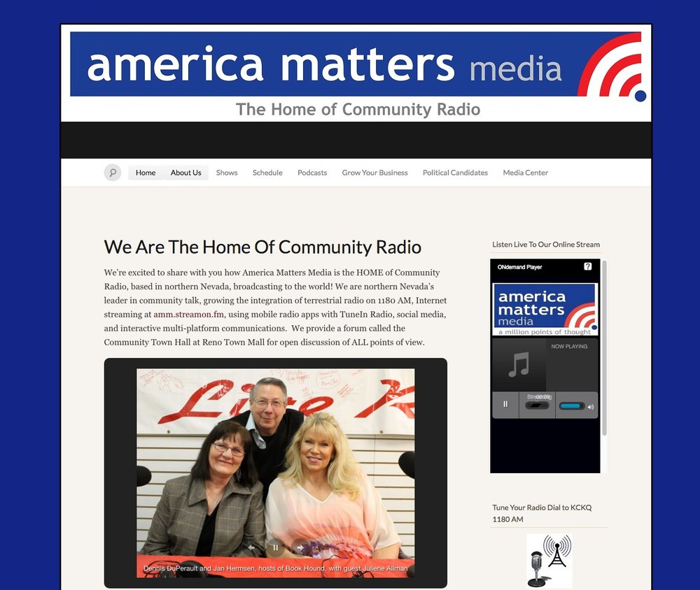 Floyd's radio programming with America Matters Media served as an initial soapbox for motel owners, and then led to an even closer partnership.