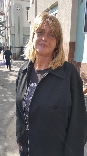 "- ""I am going to vote in the elections. I haven't followed the issues, but I am concerned about health care,"" said Lynn Liebeck, who came to Reno about three years ago from Swan Island, Oregon. We met her at the main downtown shelter. She was the only person who gave her name."