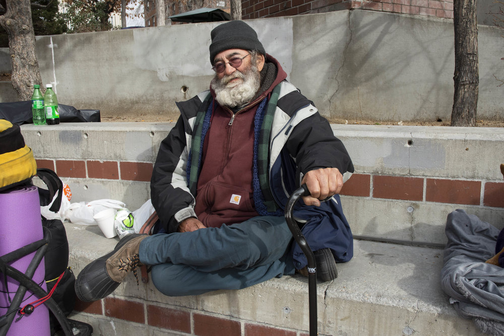 """""""I'm on the streets because I can't afford the rent. The rent went up and they tore down a bunch of motels and before they tore them down we were evicted, you know? I just can't afford the rent. Tesla showed up and the rent went up,"""" Alan said of diverging predicaments for himself and the Reno region. """"I need an apartment and a stove because I like to cook. I just want a place to live. I can pay for it. I ain't asking for a freebie. I'm asking for help."""""""