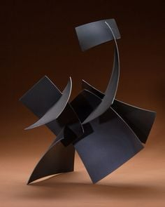 Steel sculpture by Michael Anderson